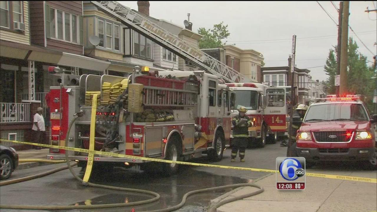 VIDEO: Woman dies in house fire in Brewerytown