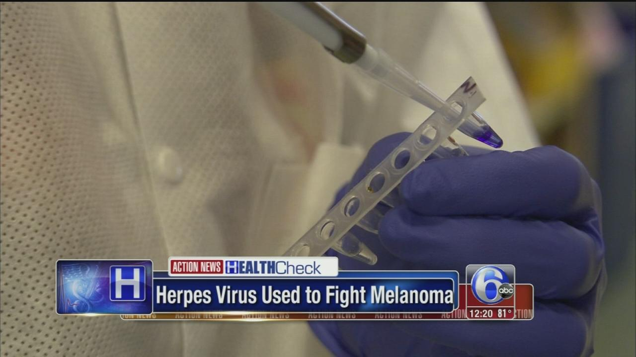 VIDEO: Herpes virus being used to fight cancer