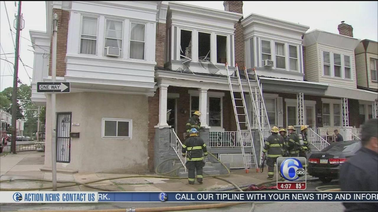VIDEO: Woman, 92, dies in house fire in Brewerytown