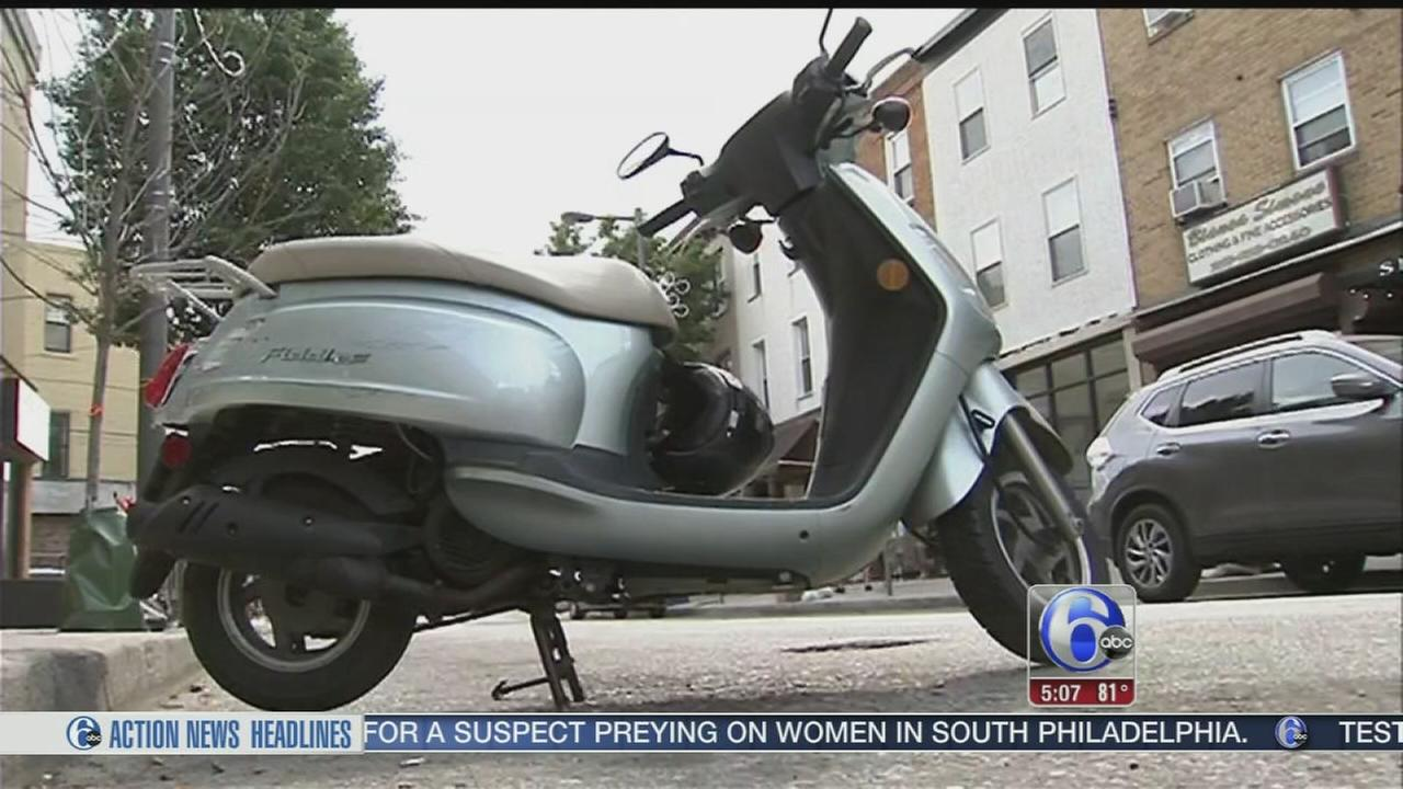 VIDEO: Rash of scooter, motorcycle thefts across Philly