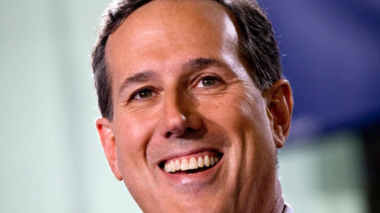 Former Pennsylvania Sen. Rick Santorum announces that he is entering the Republican presidential race, Wednesday, May 27, 2015, in Cabot, Pa.