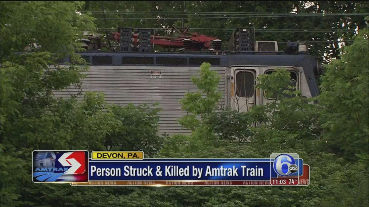 VIDEO: Person struck and killed by Amtrak train