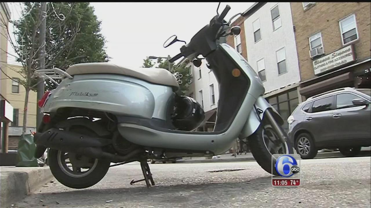 VIDEO: Scooters stolen in South Phila, Center City