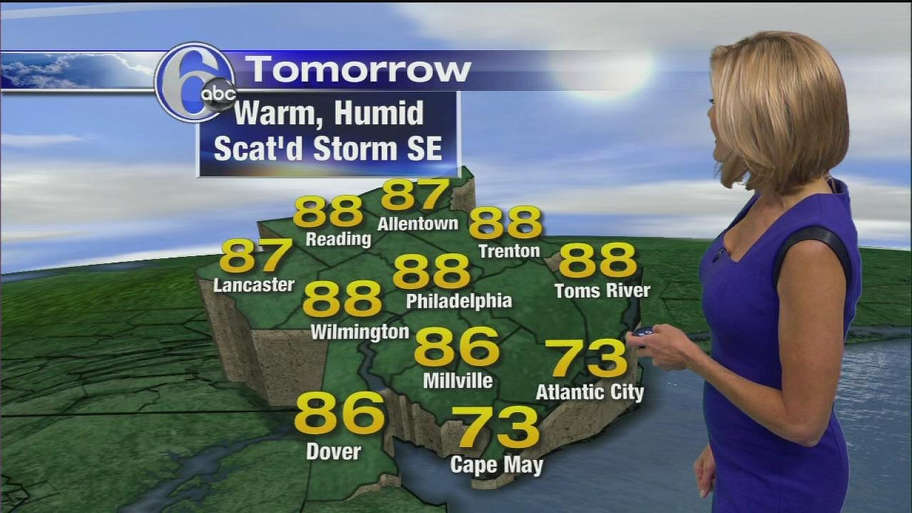 VIDEO: Cecily Tynan with AccuWeather