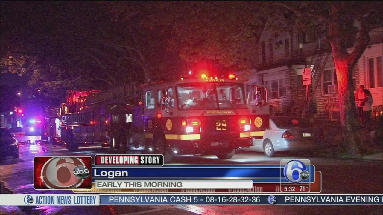 VIDEO: 1 hurt in Logan house fire