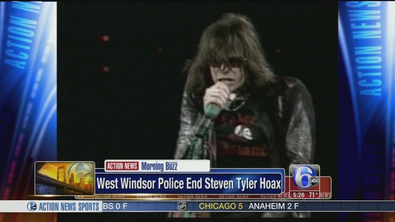 VIDEO: Police: Steven Tyler not really doing a strawberry farm show