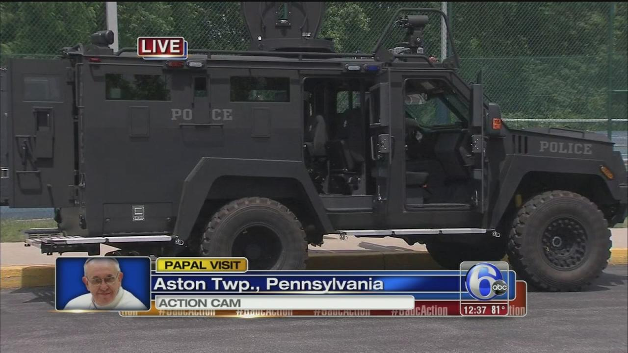 VIDEO: Security for papal visit tops agenda at Delco summit