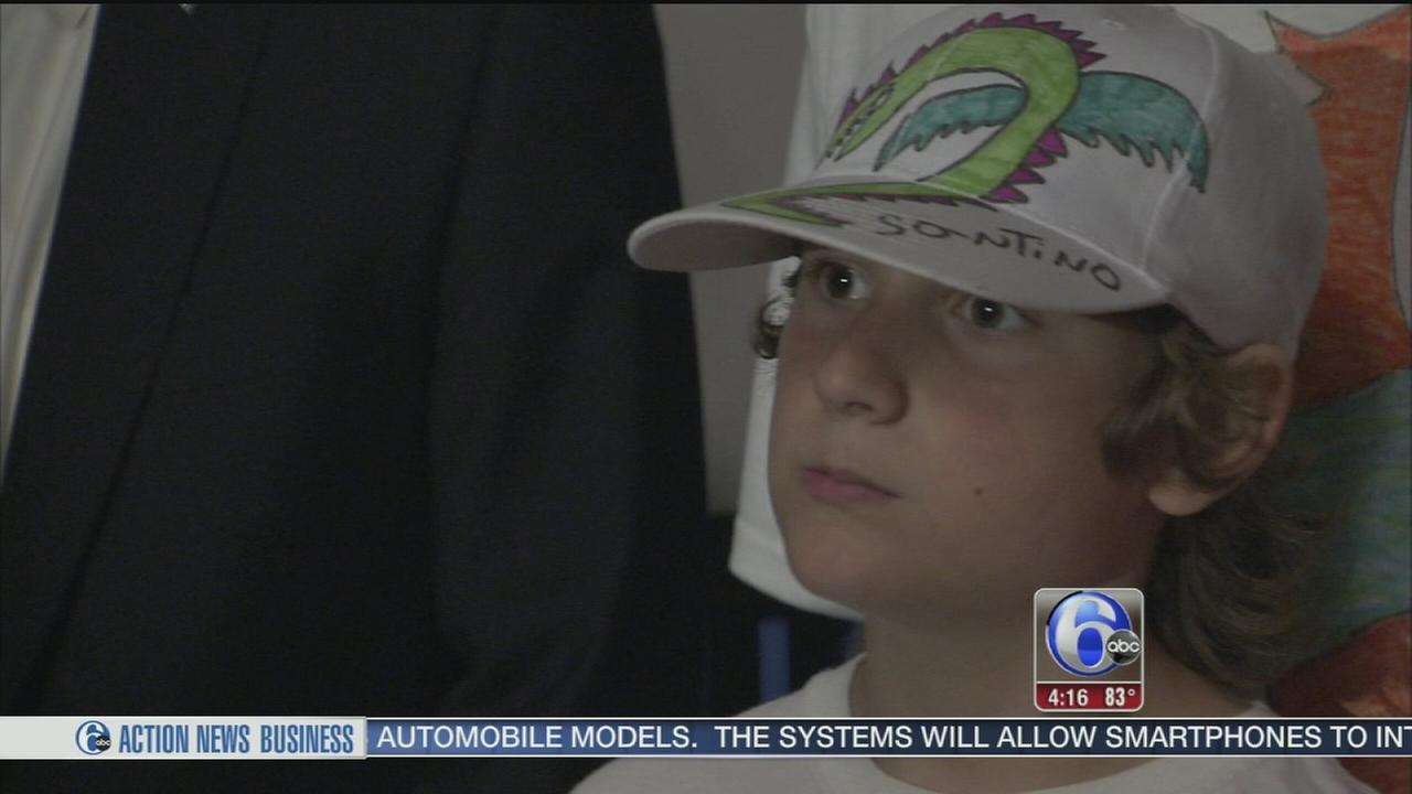 VIDEO: City honors little boy and his Dragon Drawings