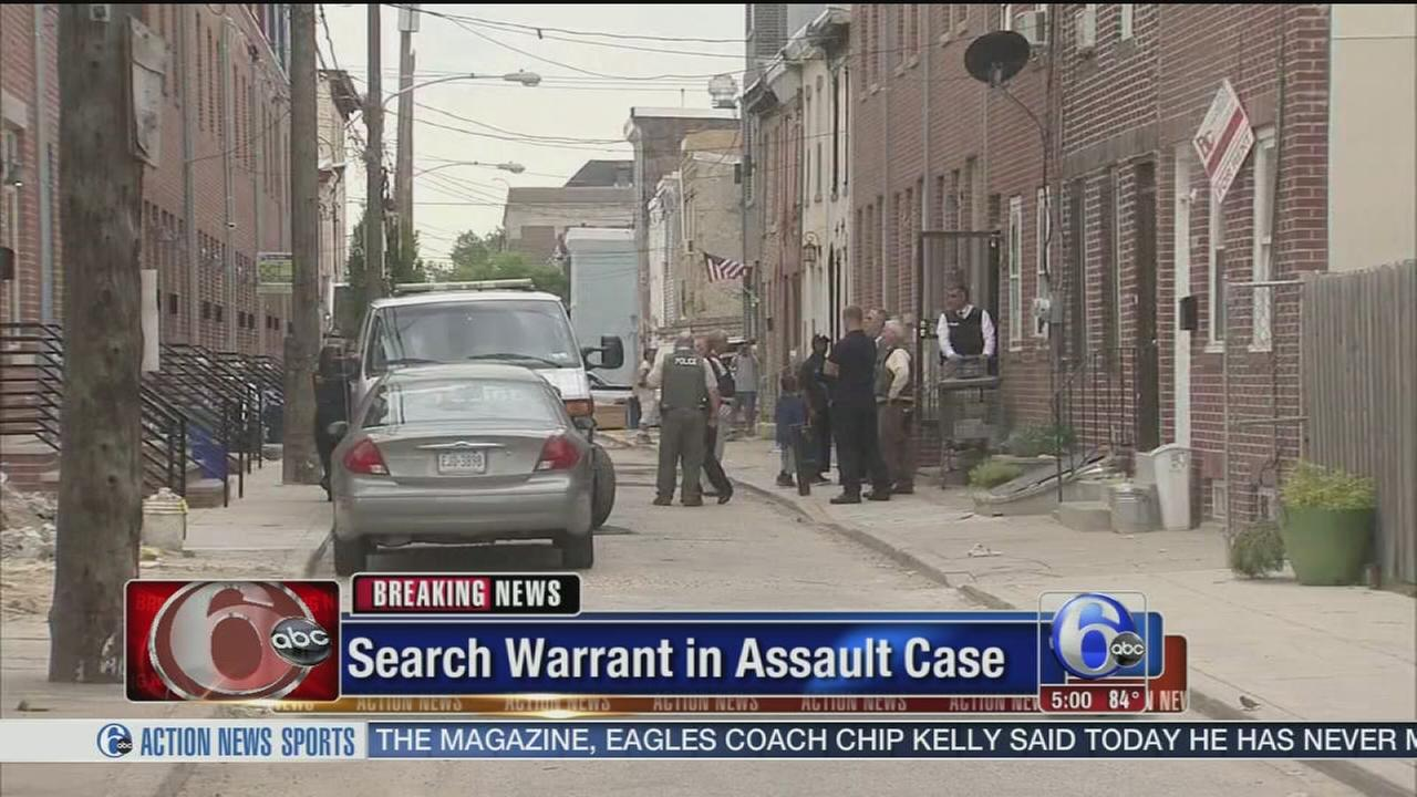 VIDEO: Search warrant issued in assault case