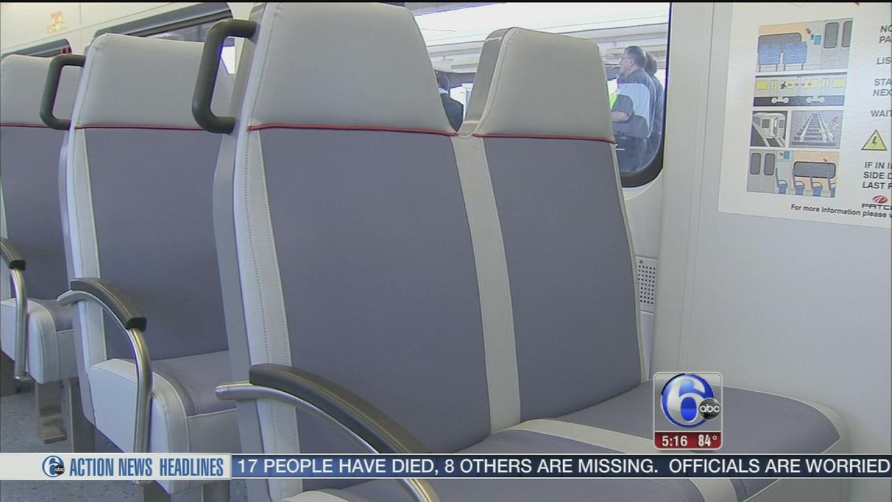 VIDEO: PATCO trains go under makeover