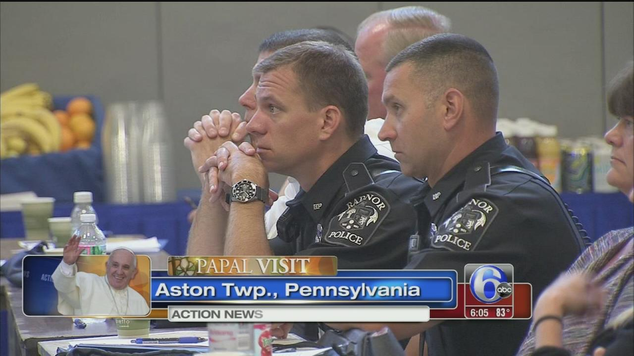 VIDEO: School safety summit held ahead of popes visit