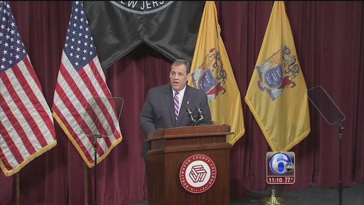 VIDEO: Gov. Christie backing away from Common Core in NJ