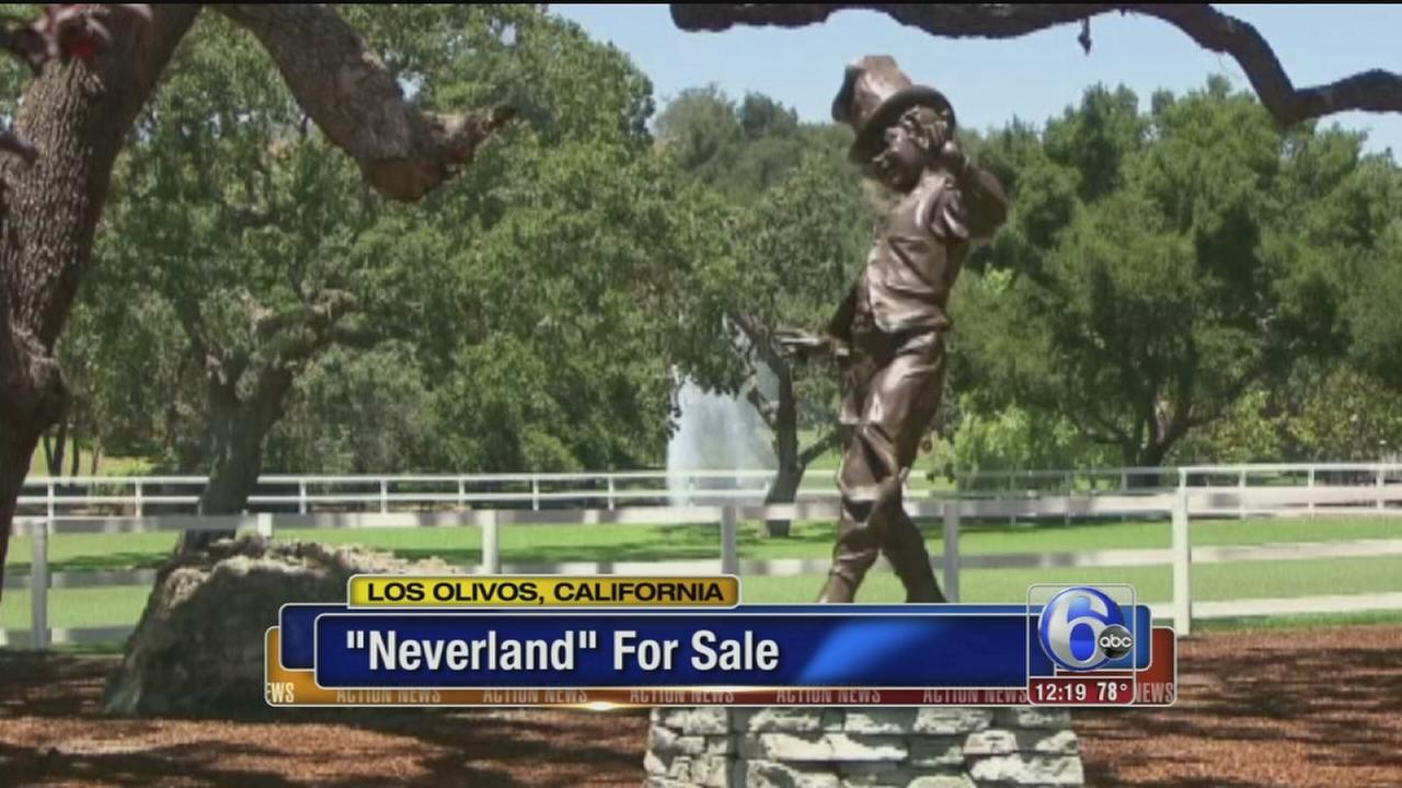 VIDEO: Neverland Ranch for sale