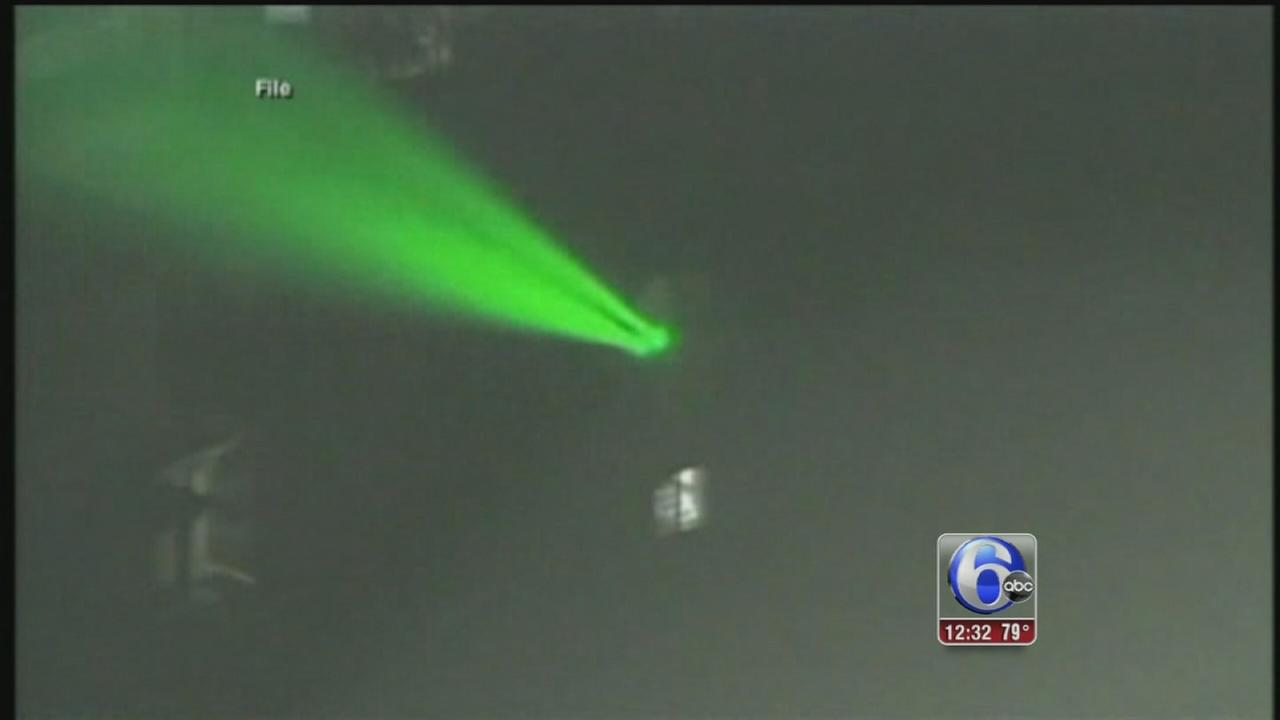 VIDEO: Lasers pointed at planes leaving JFK airport