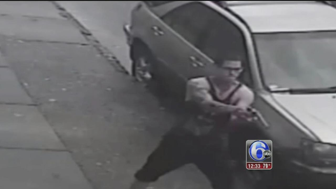 VIDEO: Shooting suspect sought