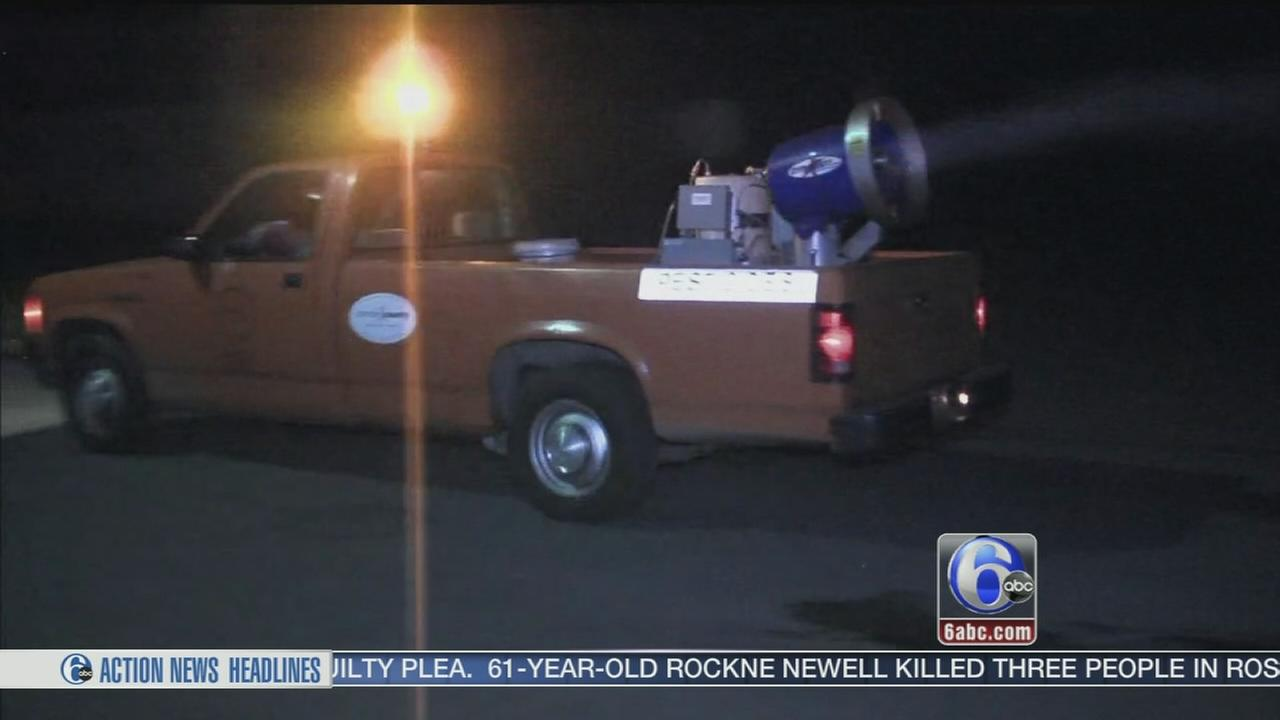 Battle against mosquitoes underway in South Jersey