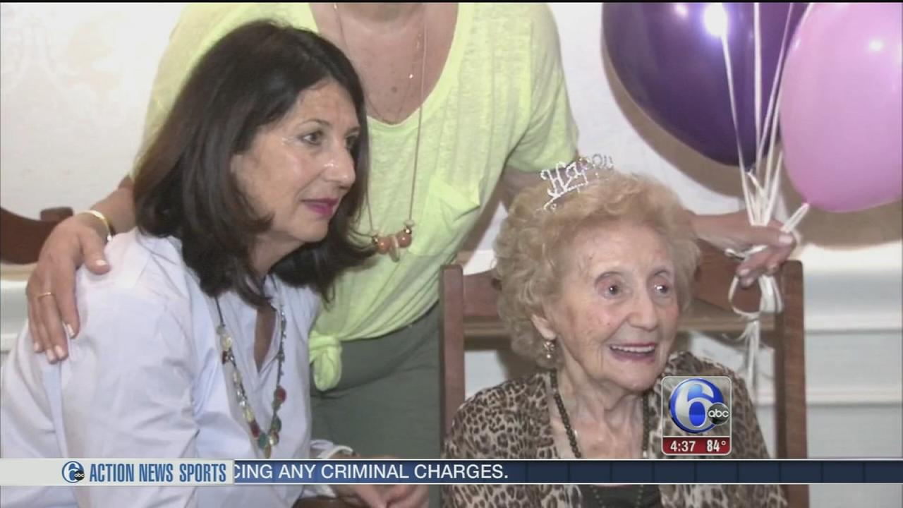 VIDEO: New Jersey woman turns 103!
