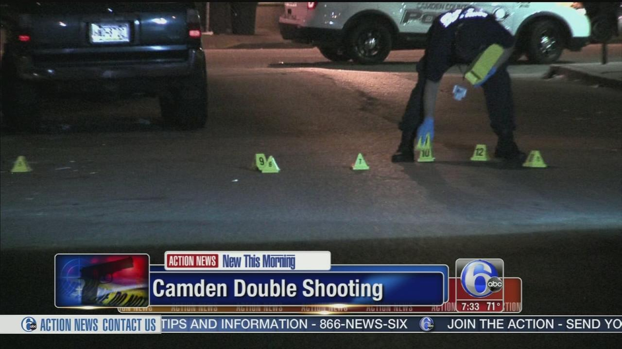 VIDEO: 2 men shot in the chest in Camden, N.J.