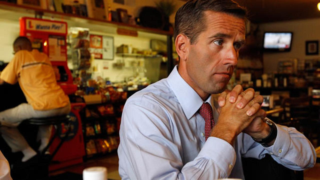 Delaware Attorney General Beau Biden responds to a question during an interview with the Associated Press in Dover, Del., Wednesday, Aug. 11, 2010.
