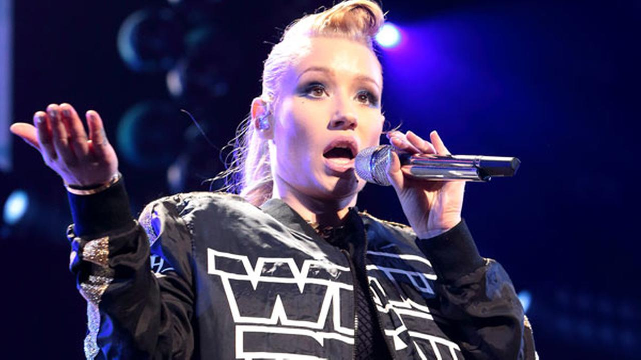 Iggy Azalea performs in concert during the Q102 Jingle Ball at the Wells Fargo Center on Wednesday, Dec. 10, 2014, in Philadelphia.