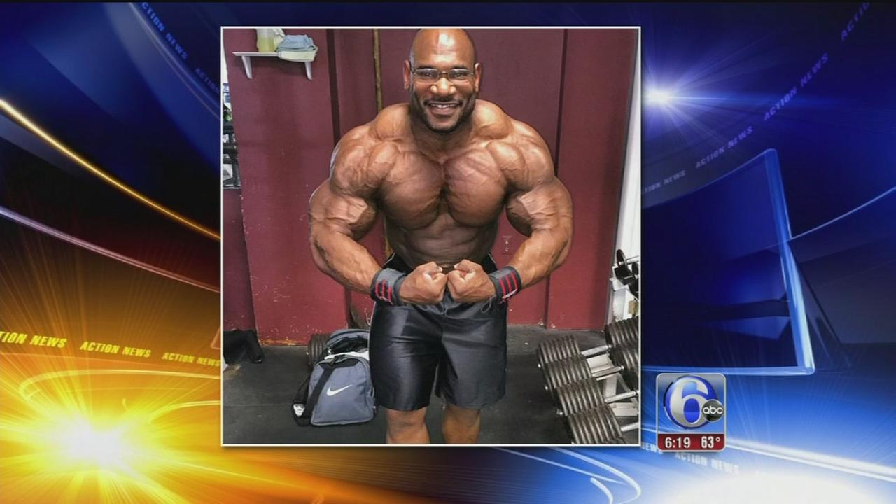VIDEO: Fred Smalls is big in body building circuit