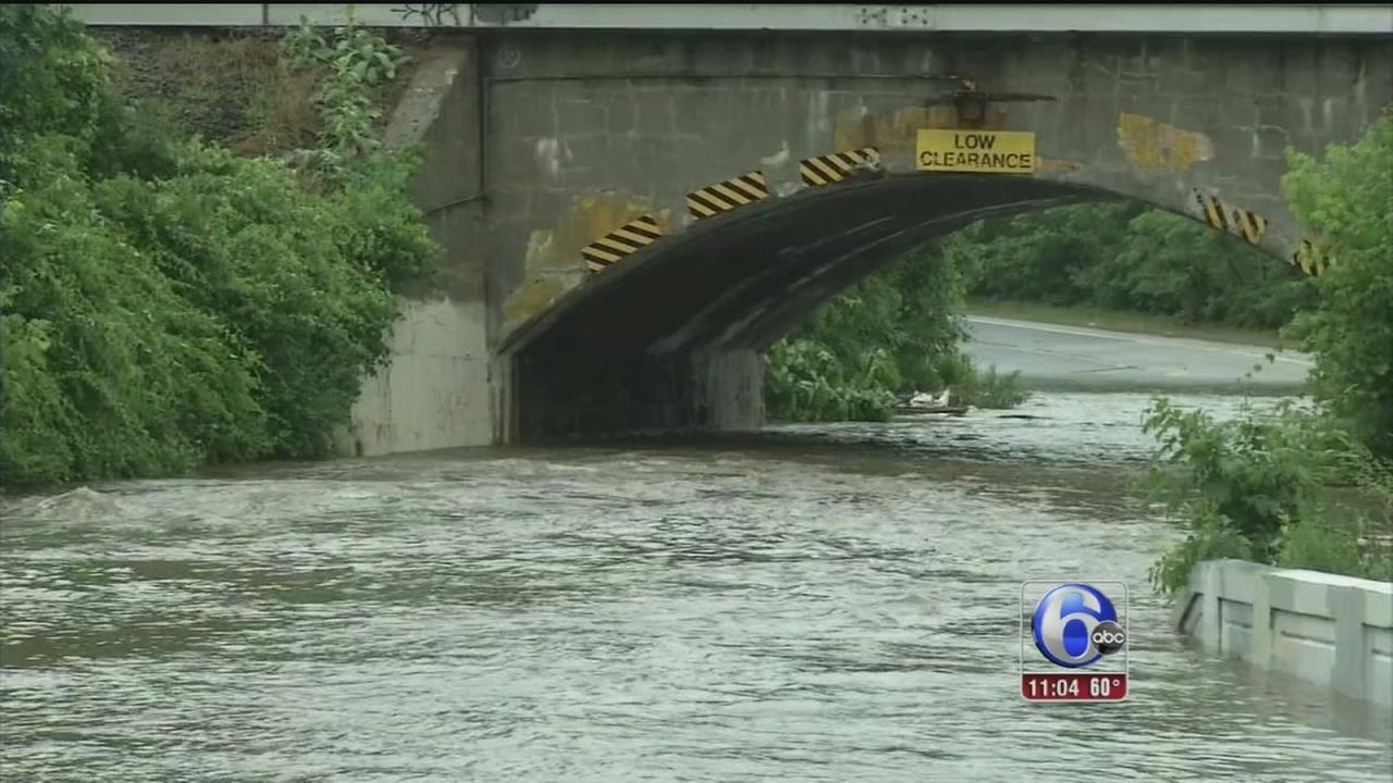 VIDEO: Flooding around the area