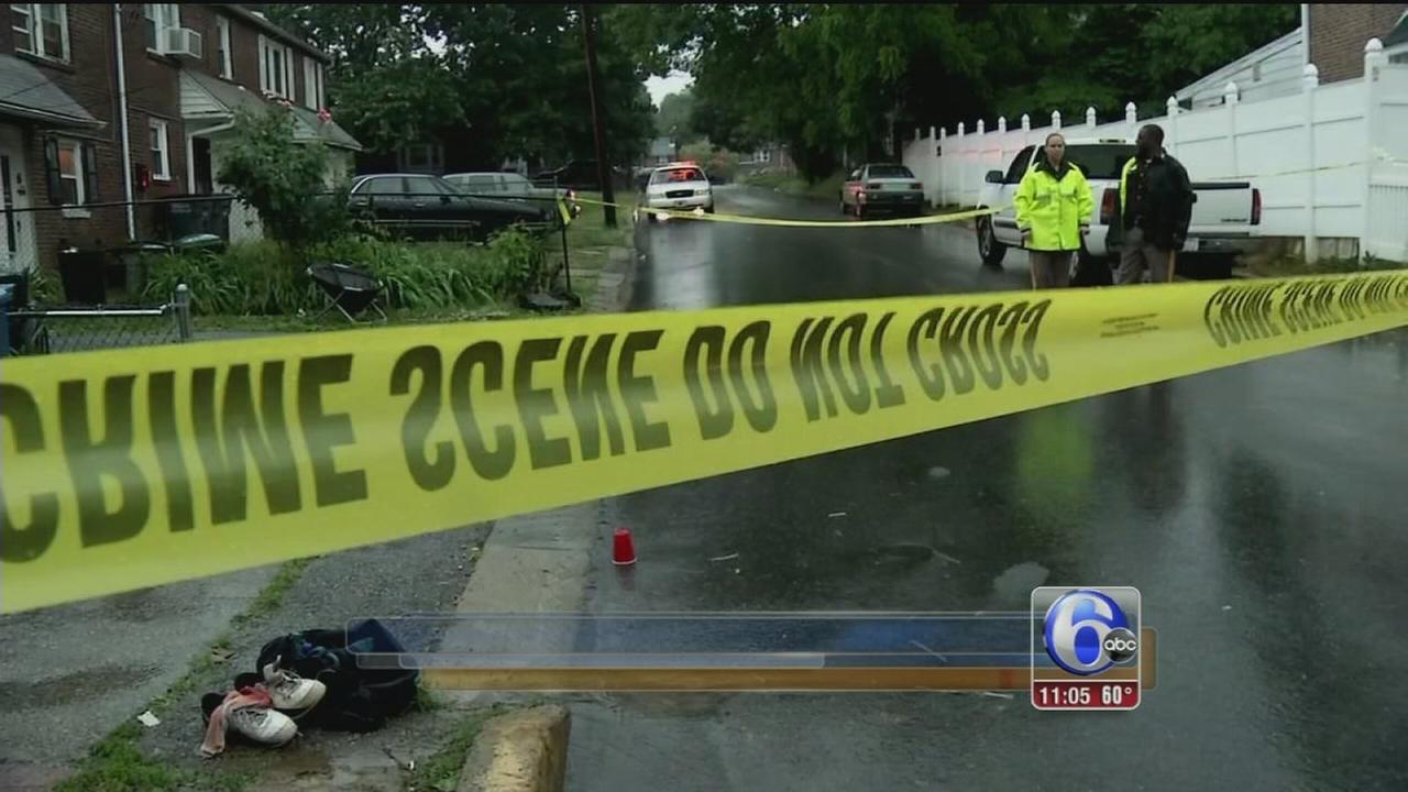 VIDEO: Stray bullets strikes crib