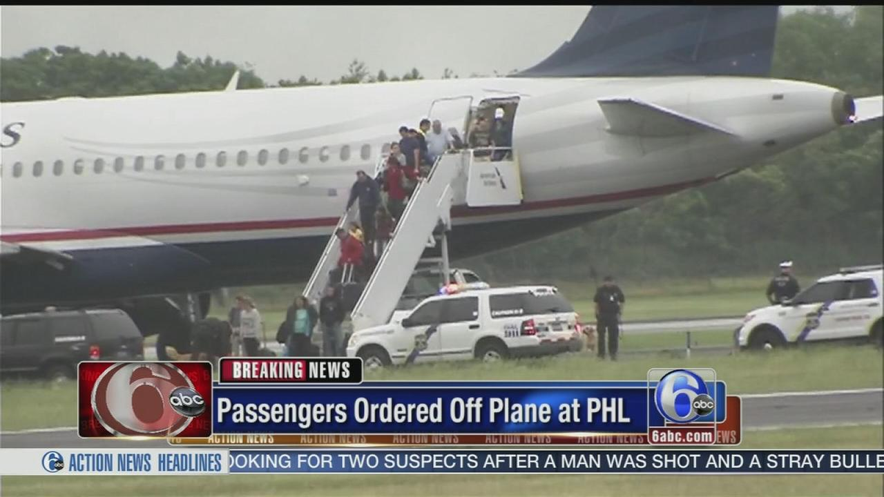 VIDEO: Plane searched at PHL