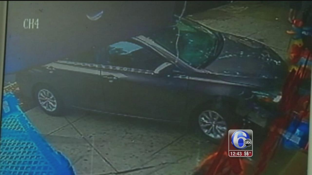 VIDEO: Toddler survives being run over by car