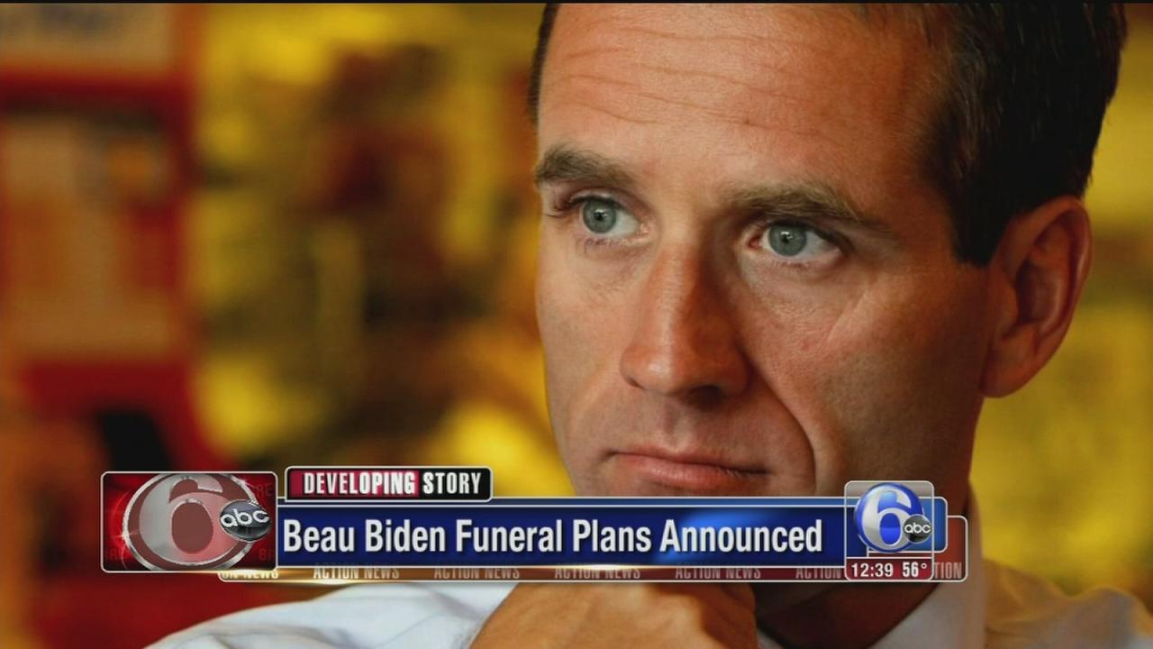 VIDEO: Funeral plans announced for Beau Biden