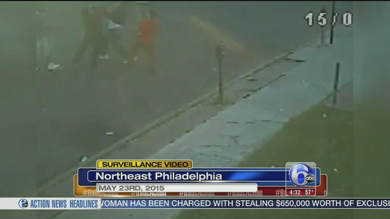 VIDEO released of fight that led to shooting in NE Phila.