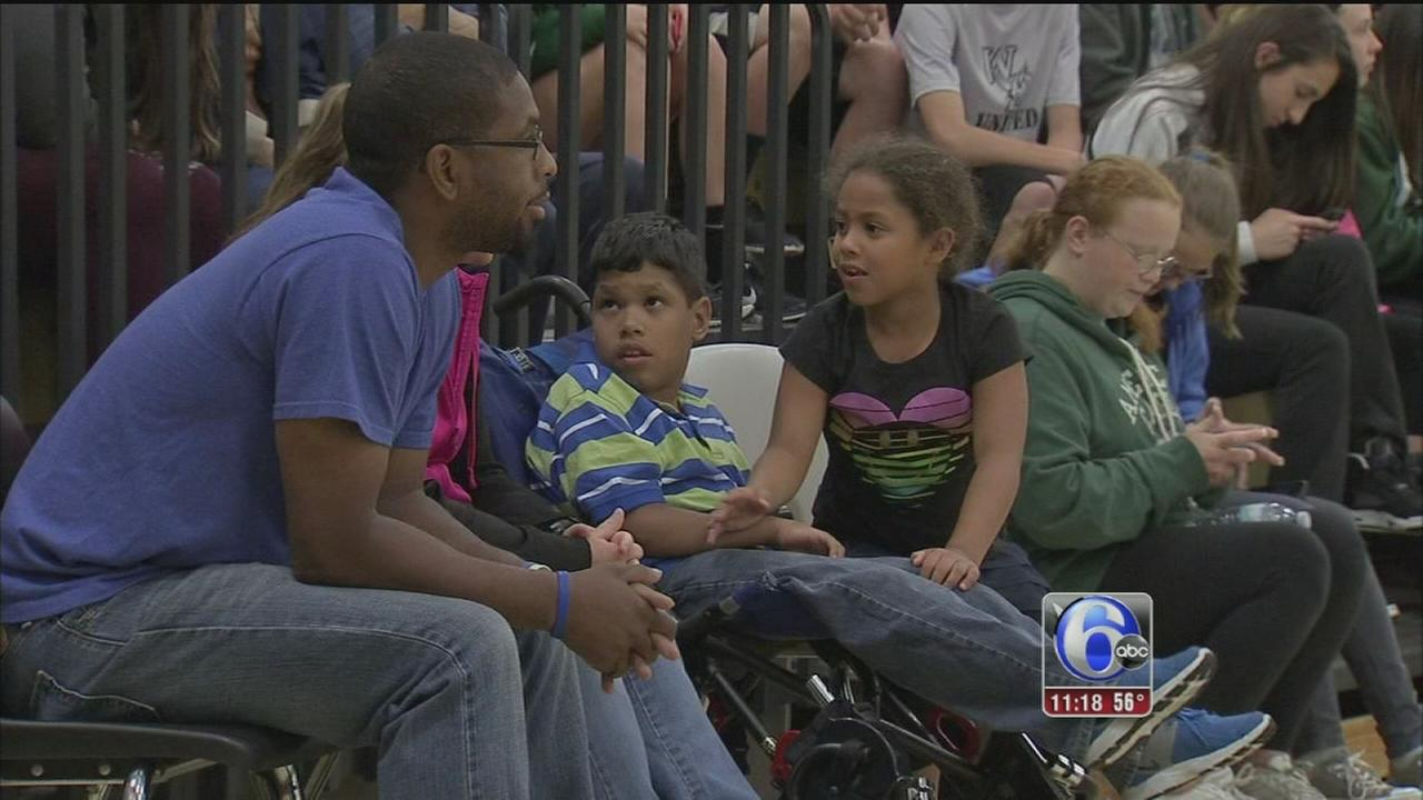 VIDEO: Charity basketball game for Isaiah