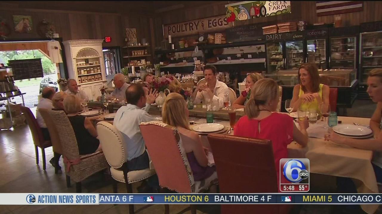 VIDEO: FYI Philly: Cecil Creek Farm dining