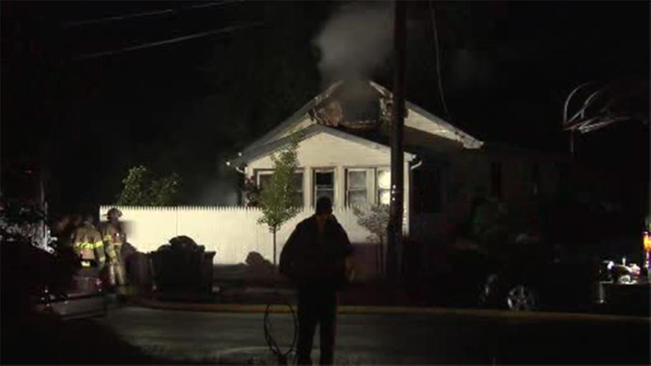 4 hospitalized after house fire in Pleasantville