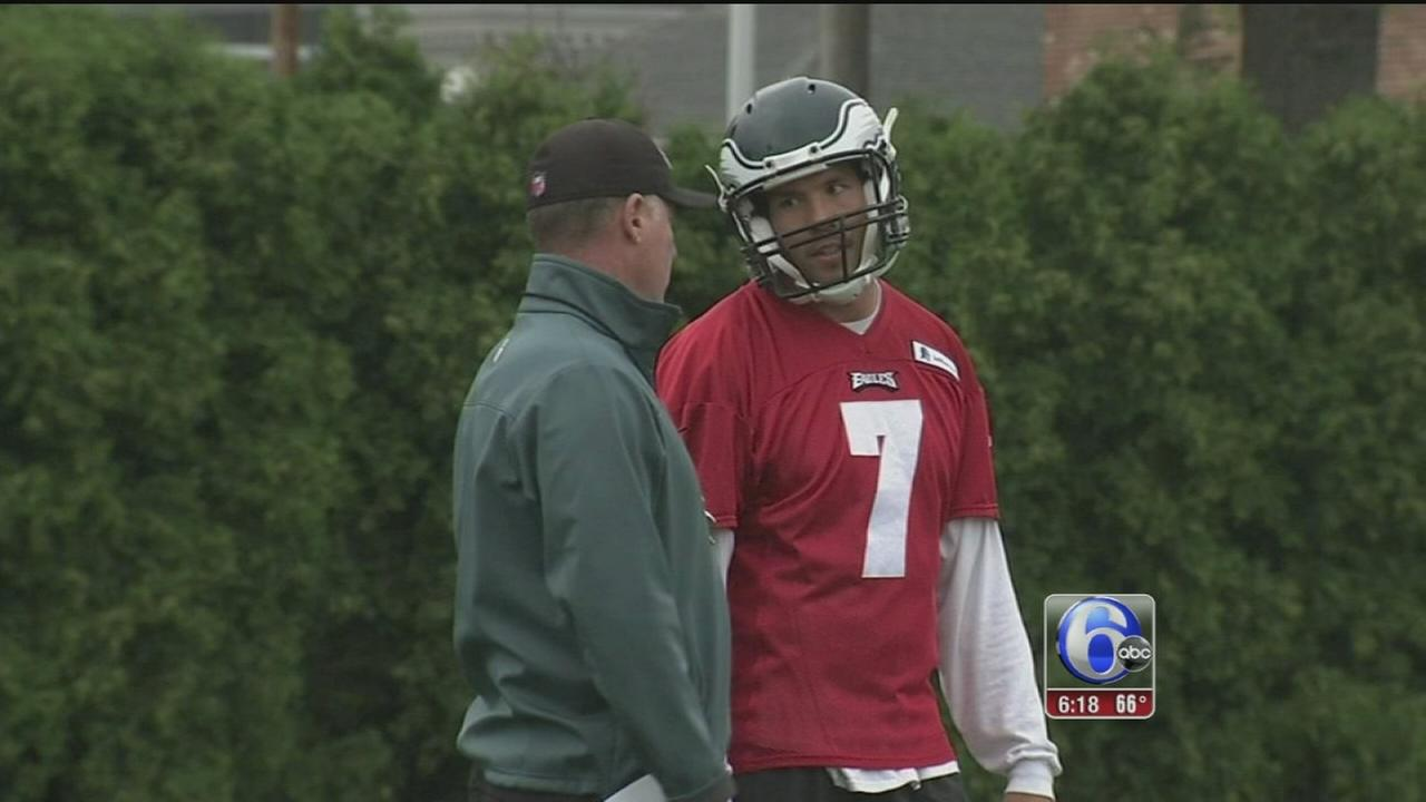 VIDEO: Sam Bradford fitting in with help of a familiar face