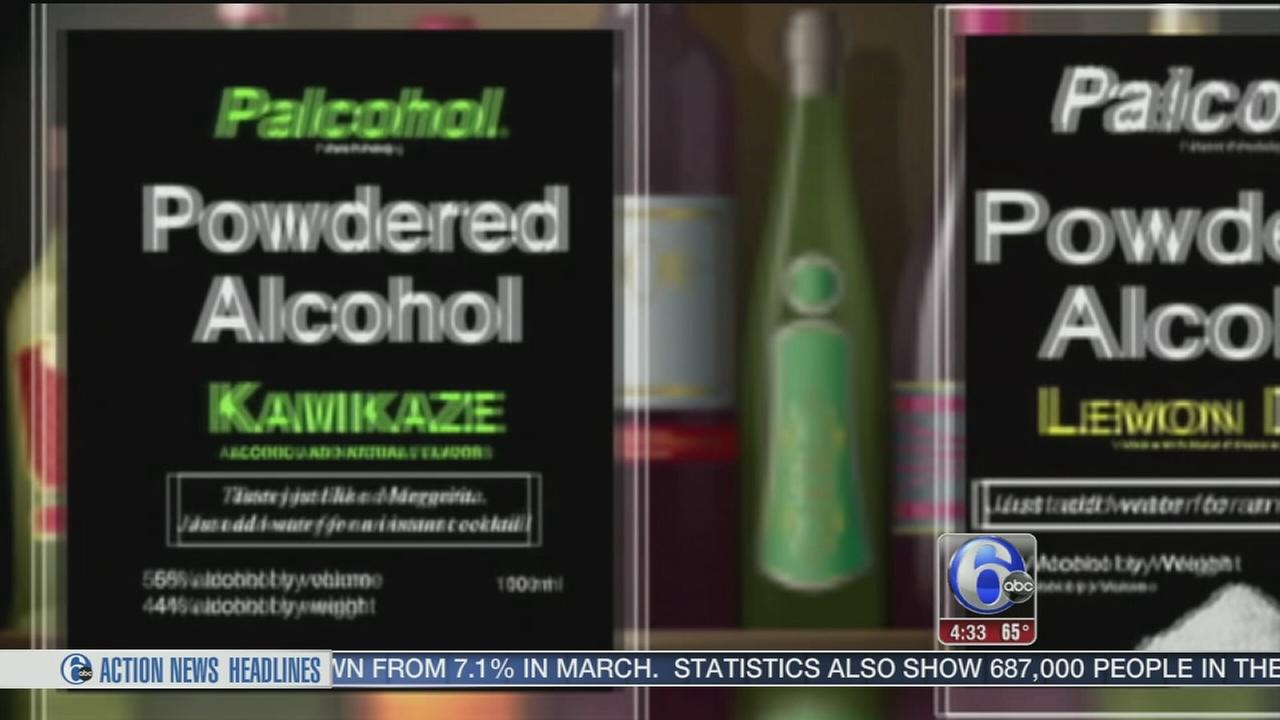 VIDEO: Lawmakers work to prevent powdered alcohol sales in Pa.
