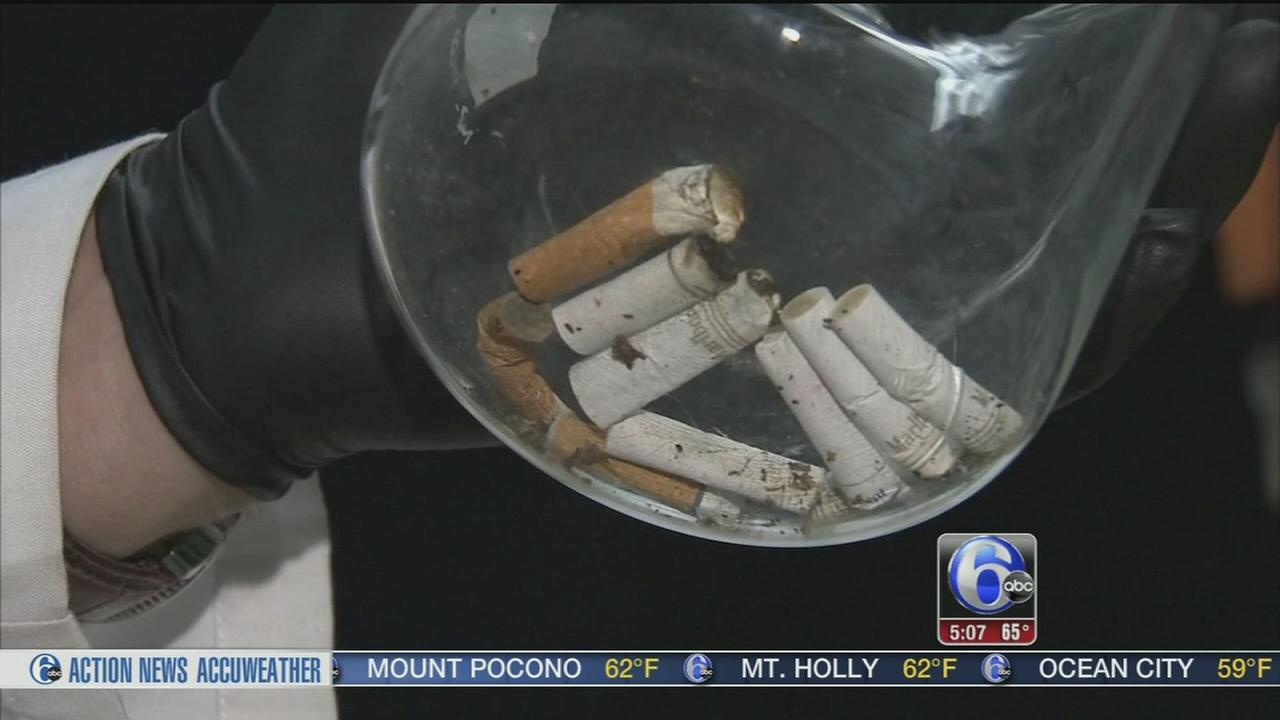 VIDEO: Trenton company recycles discarded cigarette butts