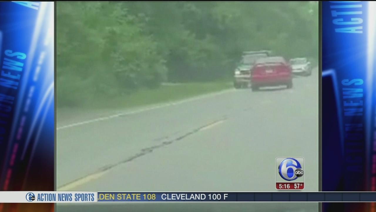 VIDEO: Camera captures erratic driver on Ohio highway
