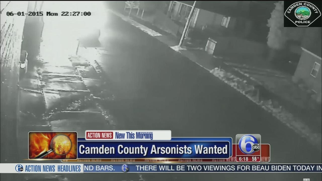 VIDEO: Camden Co. arsonists caught on surveillance