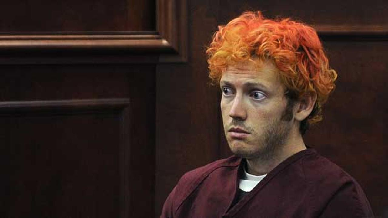FILE - In this July 23, 2012, file photo, James Holmes, who is charged with killing 12 moviegoers and wounding 70 more in a shooting spree in a crowded theatre in Aurora, Colo.