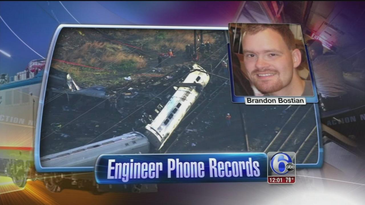 VIDEO: New info released about Amtrak engineers phone before crash