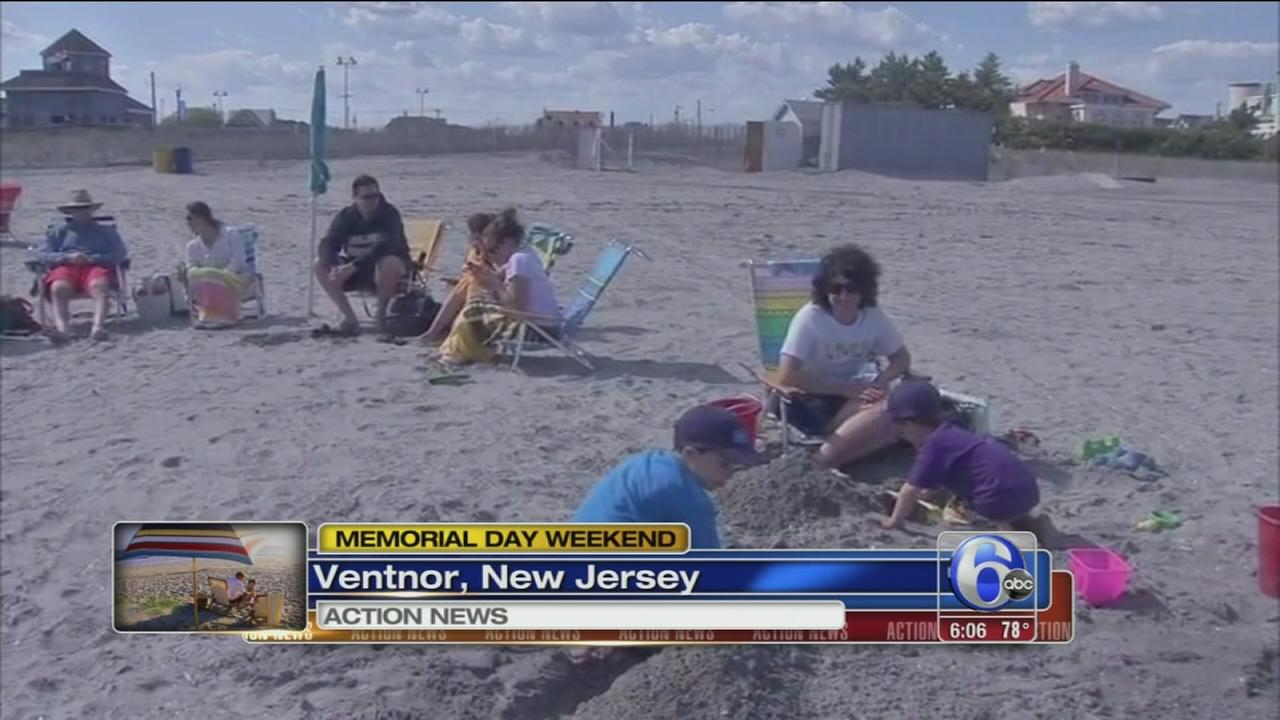 VIDEO: Holiday weekend fun in Ventnor