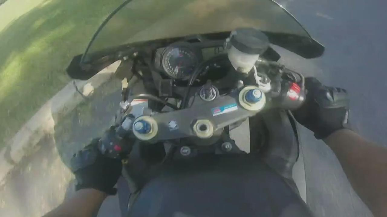 VIDEO: Motorcycle crash captured on GoPro