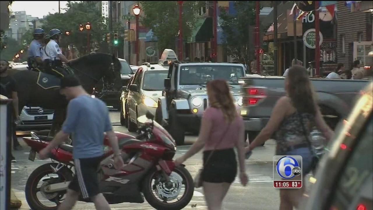 VIDEO: Annual curfew back for minors along South Street