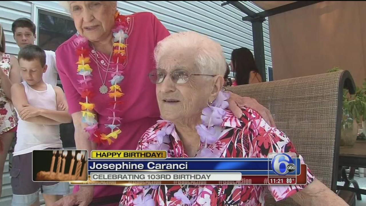 VIDEO: 3 centenarian celebrate their birthdays