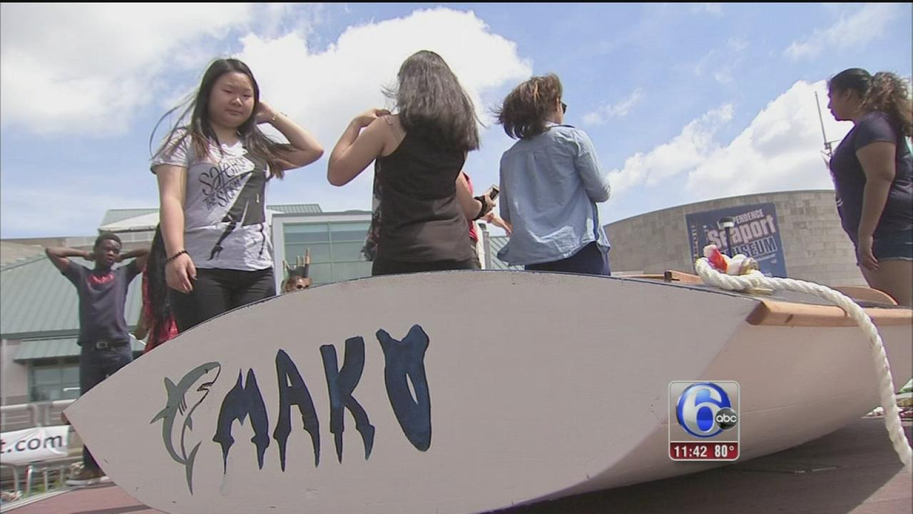 VIDEO: Program guides students through boat building using academics