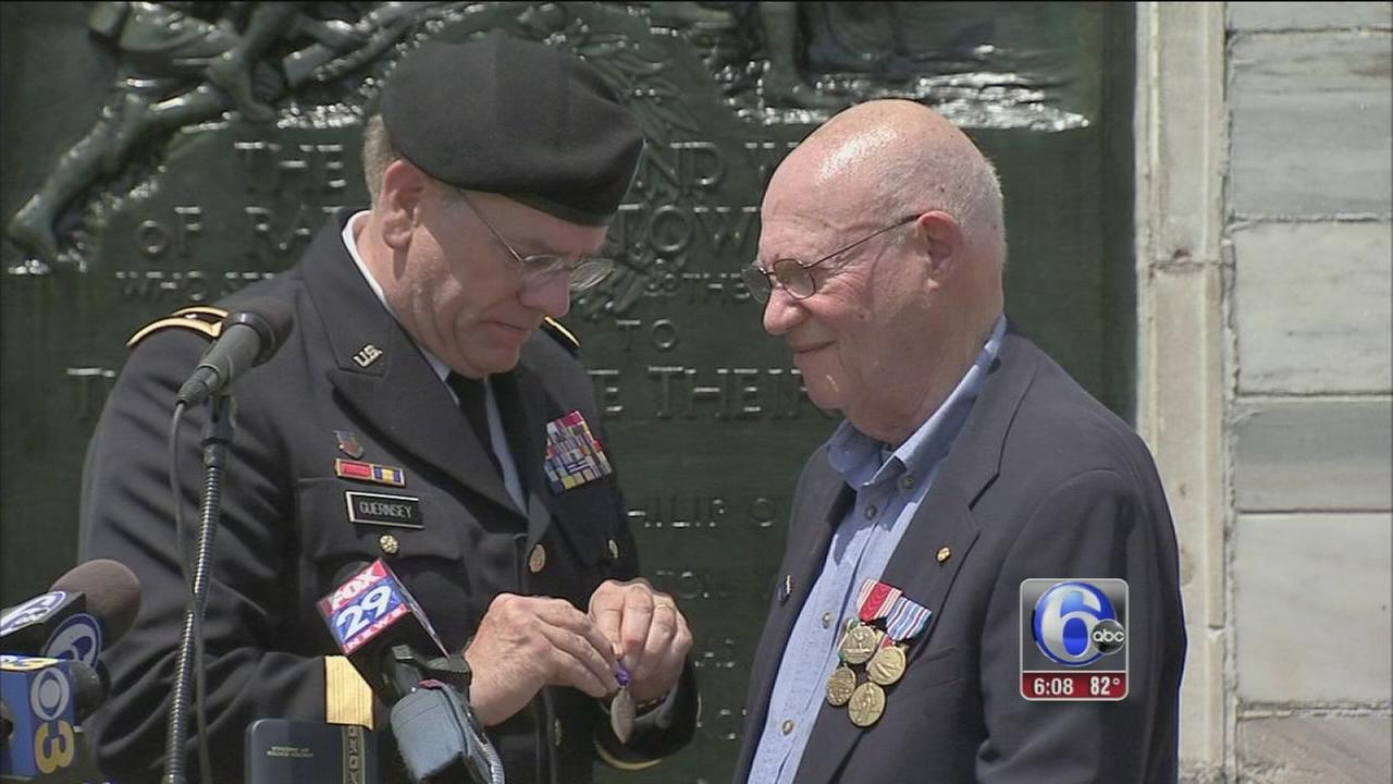 VIDEO: WW2 vet honored in Radnor Twp.