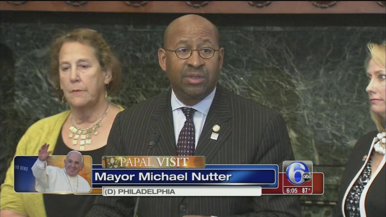 VIDEO: Philadelphia announces transit plans for papal visit