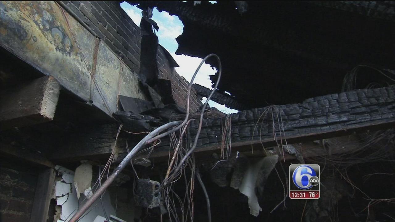 VIDEO: Rebuilding begins after West Chester fire
