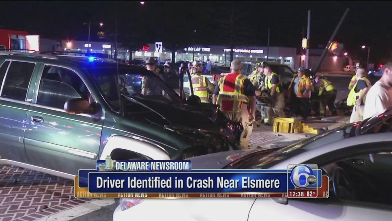 VIDEO: Driver IDd in Elsmere crash